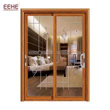 Schiebetür aus beschichtetem Aluminium im neuen Design Tür aus Äthiopien-Aluminium