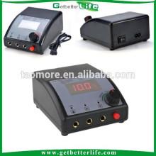 Getbetterlife Dual LCD Digital fonte de alimentação para forro e Shader arma Tattoo Power Supply para venda