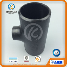 ASME B16.9 accesorios de soldadura a tope que reducen la camiseta Kt0330)
