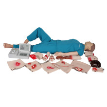 Advanced Medical Comprehensive Erste Hilfe CPR Training Manikin (LCD-Display)