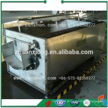 Máquina de lavar e descascar batata
