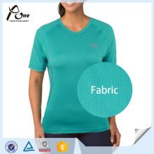 Быстрая сухая спортивная одежда Женская футболка Спортивная одежда