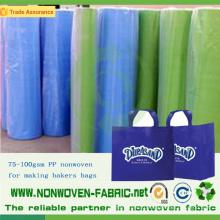 Tissu non tissé qui respecte l'environnement de pp pour le sac