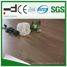 12mm Fading Oak Eir Finish Waxed Laminate Flooring with Good Quality