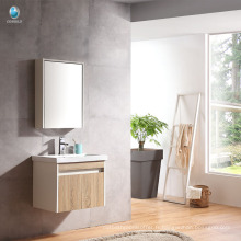 VT-086 Contreplaqué salle de bains armoire unique bassin armoire hôtel salle de bains meubles