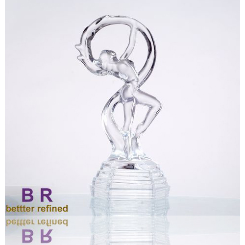 Br 5003crystal Dancer Girl For Home Decoration