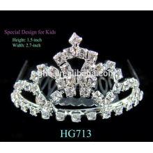 Coroa cozinha faucet coroa real chá luz suporte coroa mística sereia tiara
