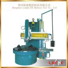 Máquina vertical del torno de la sola columna promocional del precio bajo