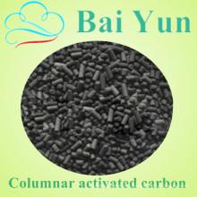 NingXia 1050 iodo valor 6% coluna de carbono ativado por cinzas