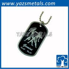 personalizar tag de cão do exército de horóscopo, tag de cão de gêmeos