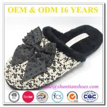 Sofe Sloe Woman Slipper Shoe In Animal Design