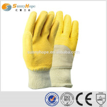 Strick Handgelenk Industrie Latex Gummi Hand Handschuhe