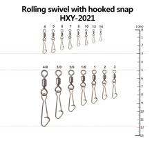 Pivotant de pêche de gros en gros avec le crochet accrochant