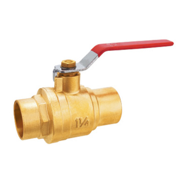 3/4 Brass Ball Valve NPT Port Penuh