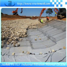 Malla de malla de Gabion tejida de acero inoxidable