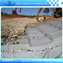 Rede tecida de aço inoxidável da malha de Gabion