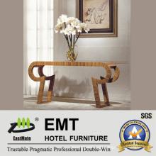 Wonderful Unique Design Wooden Hotel Furniture Public-Area Flower-Stand Table (EMT-CA30)
