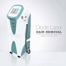 O laser o mais grande Haarentfernung Diodenlaser do laser do diodo da remoção do cabelo do tamanho de ponto 808nm