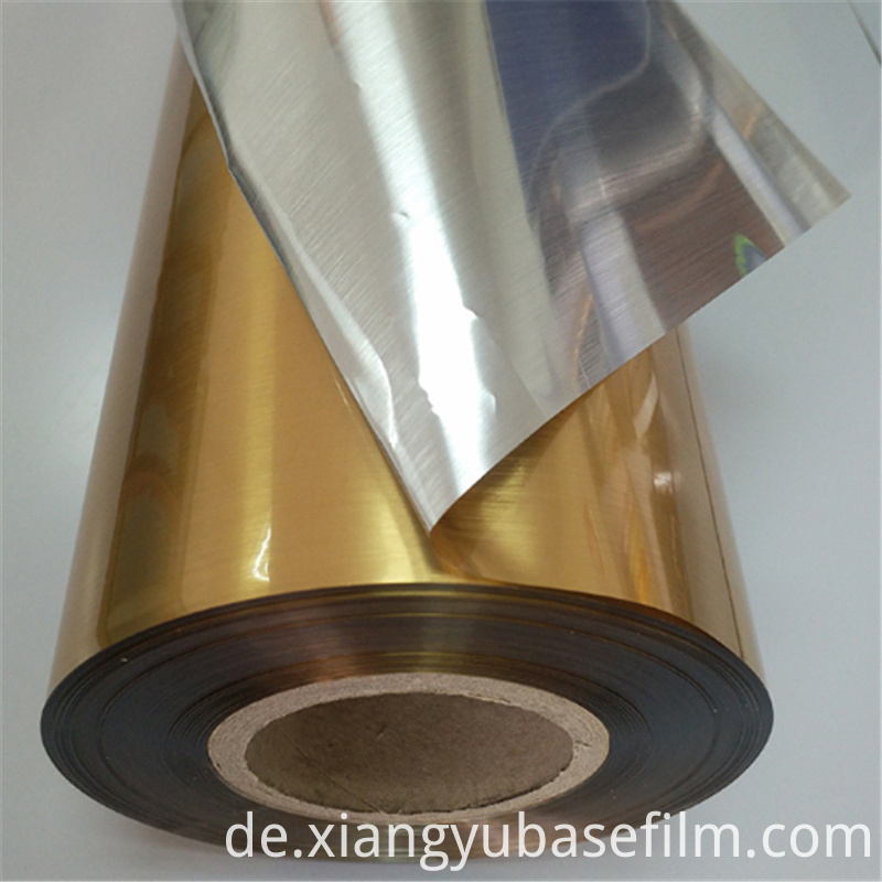 Metalized Gold Film 3