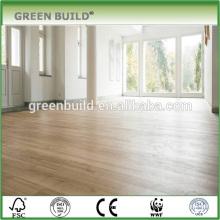 UV oil finished natural engineered oak wood flooring