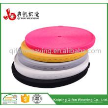 fita elástica de casa de botão colorida