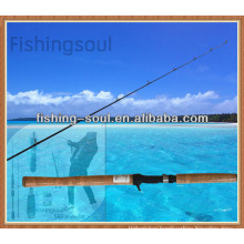 CTR003 1 Section Bait Carbon Casting Fishing Rod
