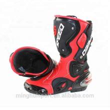 Heißer Verkauf Großhandel spezialisierte Schutz Mitte Kalb Motocross Reiten Schuhe