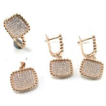 Ensembles de bijoux les plus récents en forme de bijoux fantaisie 925 (S3314)