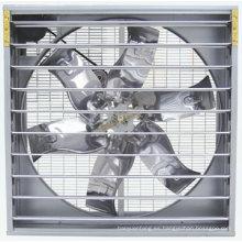 Ventilador de enfriamiento de 54 pulgadas con obturador centrífugo para la Casa de Broilers
