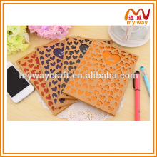 Um amor único dobrou notebook, diy notebook reciclado para crianças