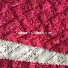 laço da folha estofando tecido, folha de tecido térmico acolchoado para o vestuário