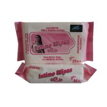 ISO Intimate Lemon Spunlace Fabric For Wet Wipes