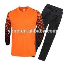 Camisa al por mayor caliente del portero del jersey del fútbol de la calidad excelente