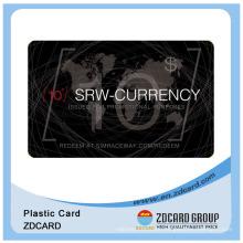 Scratch Card/Scratch off Card/PVC Code Card