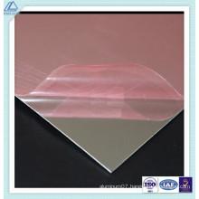 1070 Aluminum/Aluminium Polished/Reflective/Polished/Mirror Sheet with 90% Reflection