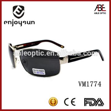 Las gafas de sol italianas de la marca de fábrica del tamaño grande al por mayor Alibaba