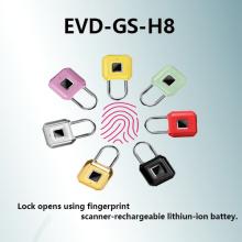 Умный замок для отпечатков пальцев Зарядка через USB Водонепроницаемость