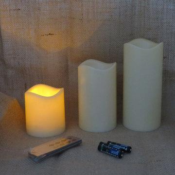 Fernbedienung LED-Kerzenlichter der Batterietastensteuerung