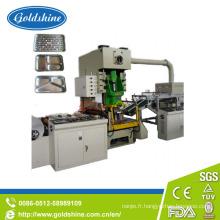 Professionnel en Aluminium Foil Cotainer faisant la Machine (CE)