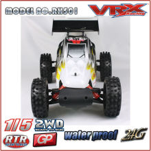 VRX гонки марка 1/5 Газе РТР багги, 2WD нитро багги