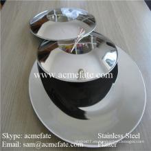 Chafing chino de acero inoxidable platos de exportación UAE
