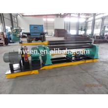 3 roll plate bending roll machine W11F-3*1200/plate rolling machine with pre-bending/asymmetric plate rolling machine