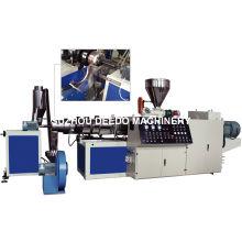 Machine de pelletiseur et de granulatoire de PVC mou