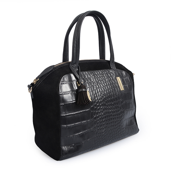 Large capacity women crocodile handbag leather designerbag