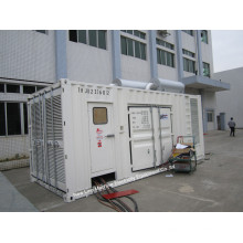 910kVA Soundproof CUMMINS Diesel Power Generator Set / Kta38-G2a