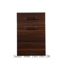 Resistente a los arañazos de madera puerta de madera de gabinete de cocina con bordes Banding (zhuv)