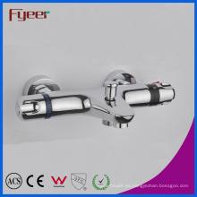 Grifo termostático de la ducha de baño de la en-pared de la alta calidad de Fyeer con el desviador