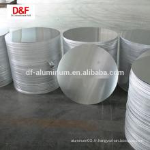 Disque de coupe CC CC en aluminium pour ustensiles de cuisine 1050 3003
