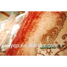 Meilleure qualité en gros couverture de peau de mouton mongol tibétain / tapis