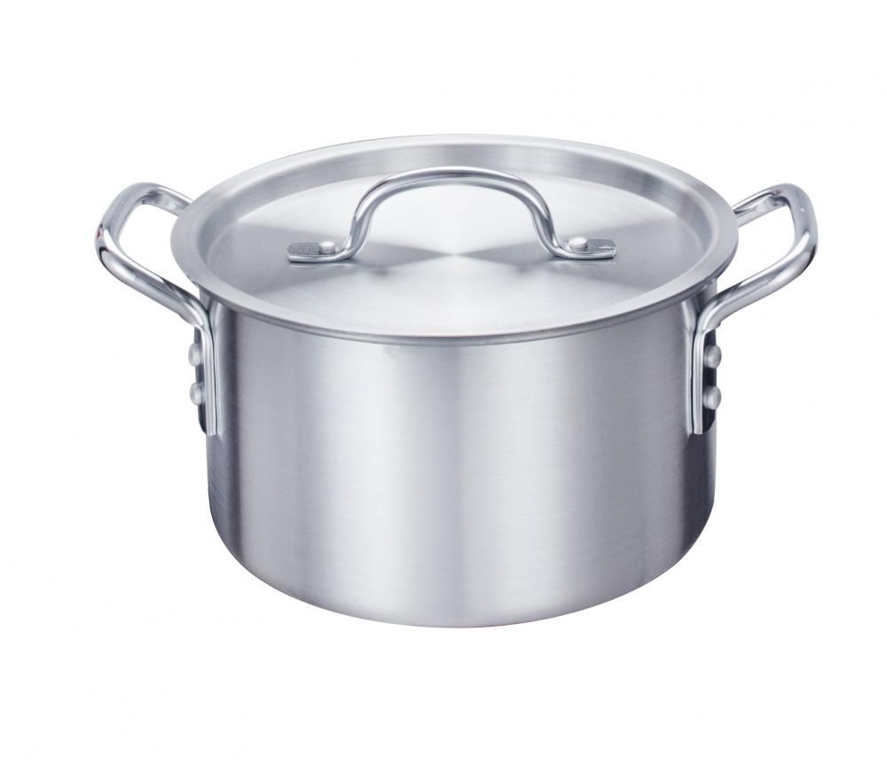 5 5qt Aluminum Stock Pot